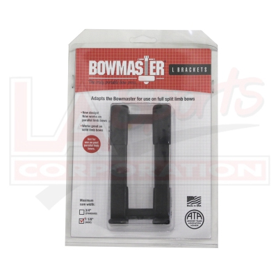 "BOWMASTER SPLIT LIMB L BRACKET WIDE (1 1/8"")"