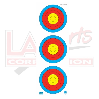 JVD WA 3x20cm VERTICAL FACE (INDOOR 18M) - RECURVE