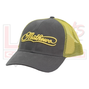 MATHEWS BULLSEYE TRUCKER CAP