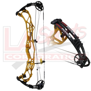 "2019 HOYT PROFORCE HYPER ZT COMPOUND BOW 60# 29"" MATTE GOLD"