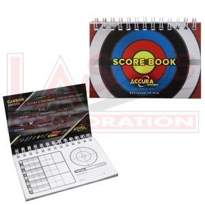 LA SPORTS SCOREBOOK 5 PIECES (BULK)