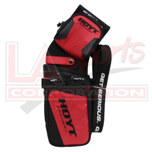 HOYT RED TEAM FIELD QUIVER (REVERSIBLE FOR RH AND LH)