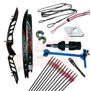 WNS FORGED ELITE ALPHA RECURVE PACKAGE