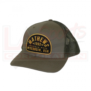 MATHEWS FOREST TRUCKER CAP