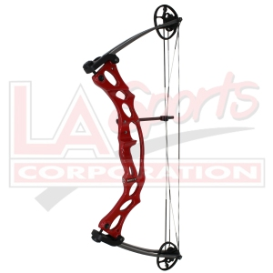 "HOYT RUCKUS YZ 45# 24"" RED"